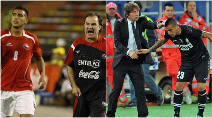 Arturo Vidal explicó su peinado y menospreció a Marcelo Bielsa: