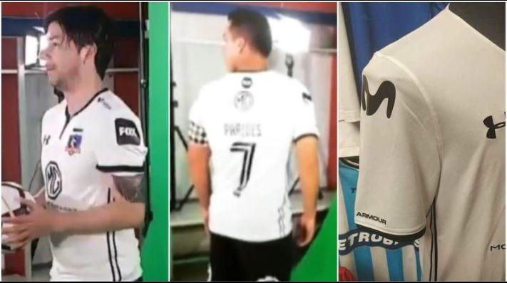 Colo Colo deja atrás 15 años con cambio en la camiseta  el apellido ... eef299b76490e