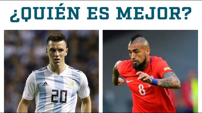 ¿Lo Celso vs Vidal?
