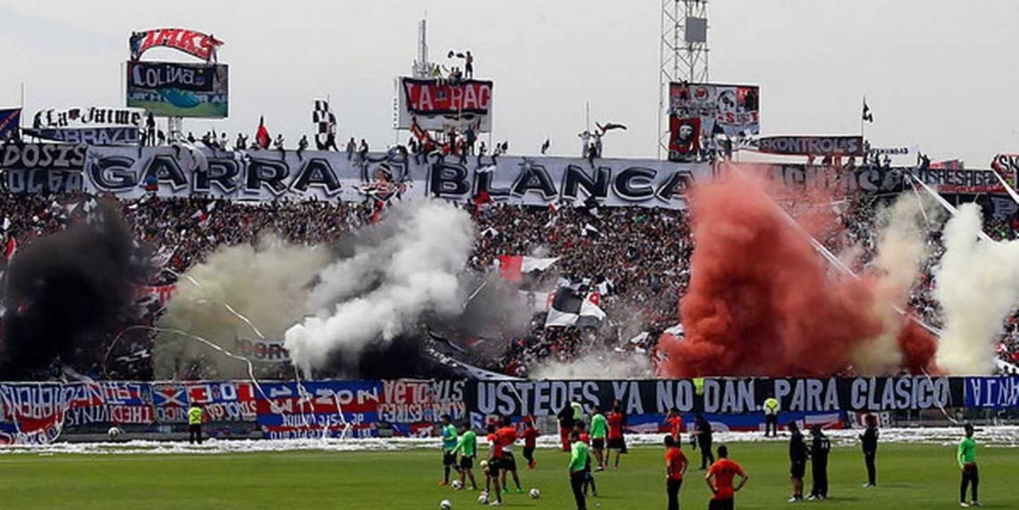 Arengazo en el estadio Monumental