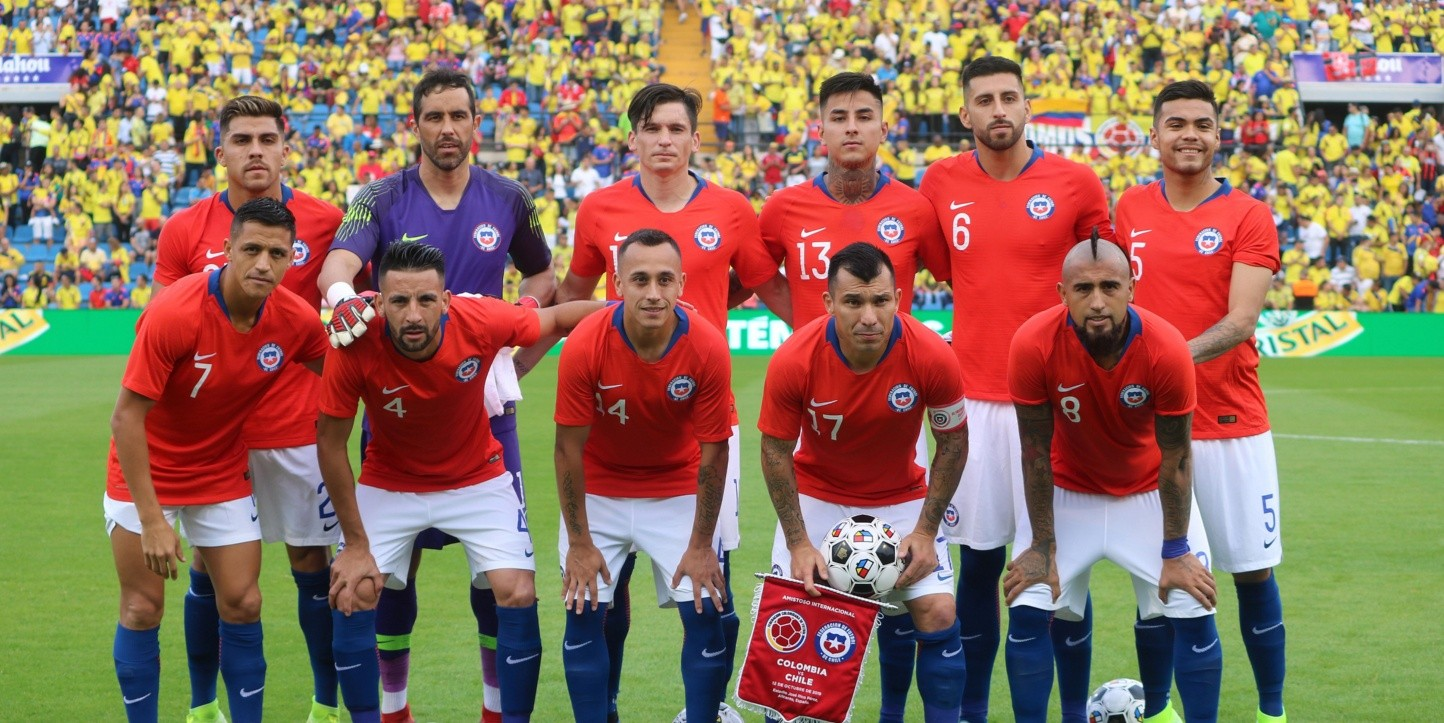 Chile definió su once