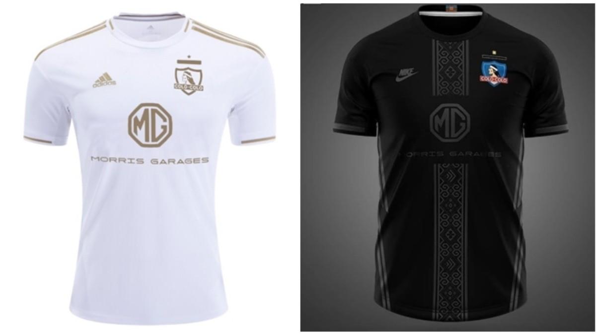 diseño novedoso vanguardia de los tiempos comprar más nuevo Las camisetas Adidas y Nike de Colo Colo con las que los hinchas albos  alucinan   Dale Albo