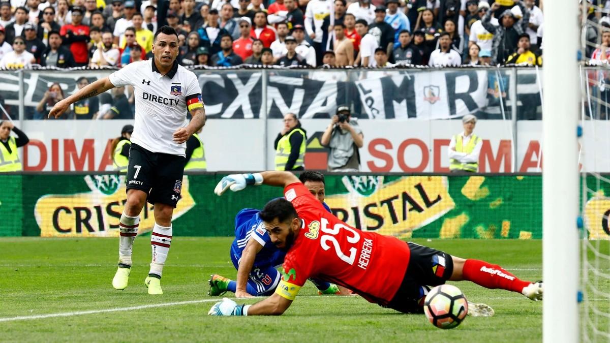 Los 15 goles de Esteban Paredes con Colo Colo a la U en Superclásicos    Dale Albo