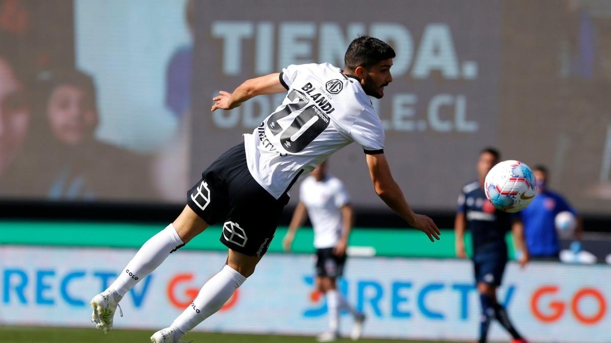 Para que te traje: el increíble gol que se pierde Blandi en la igualdad de  Colo Colo ante Universidad de Chile | Dale Albo