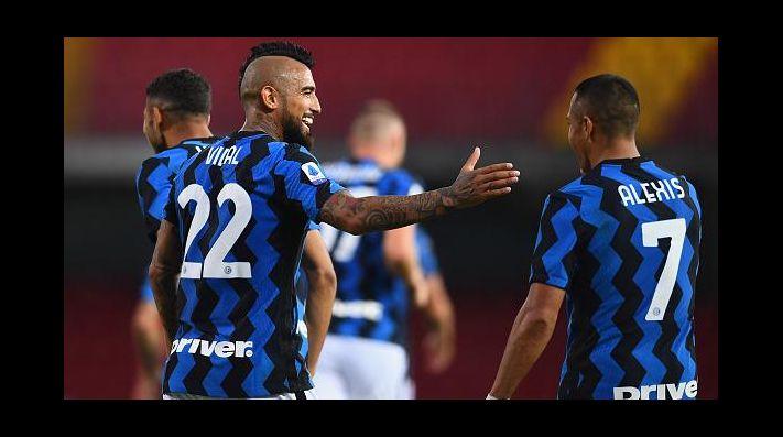 EN VIVO Sassuolo Vs Inter De Mil U00e1n De Arturo Vidal Y