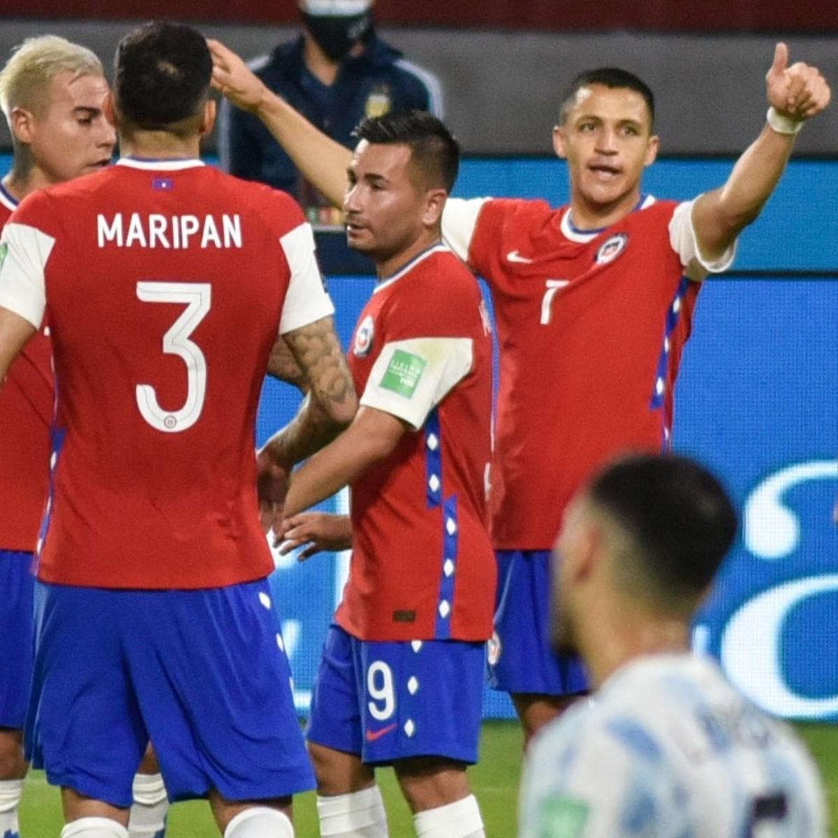 Argentina 1 1 Chile Resultado Video Resumen Y Goles Fecha 7 Las Eliminatorias A Qatar 2022 Dale Albo
