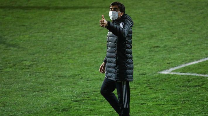 Gustavo Quinteros destaca a la patrulla juvenil de Colo Colo.