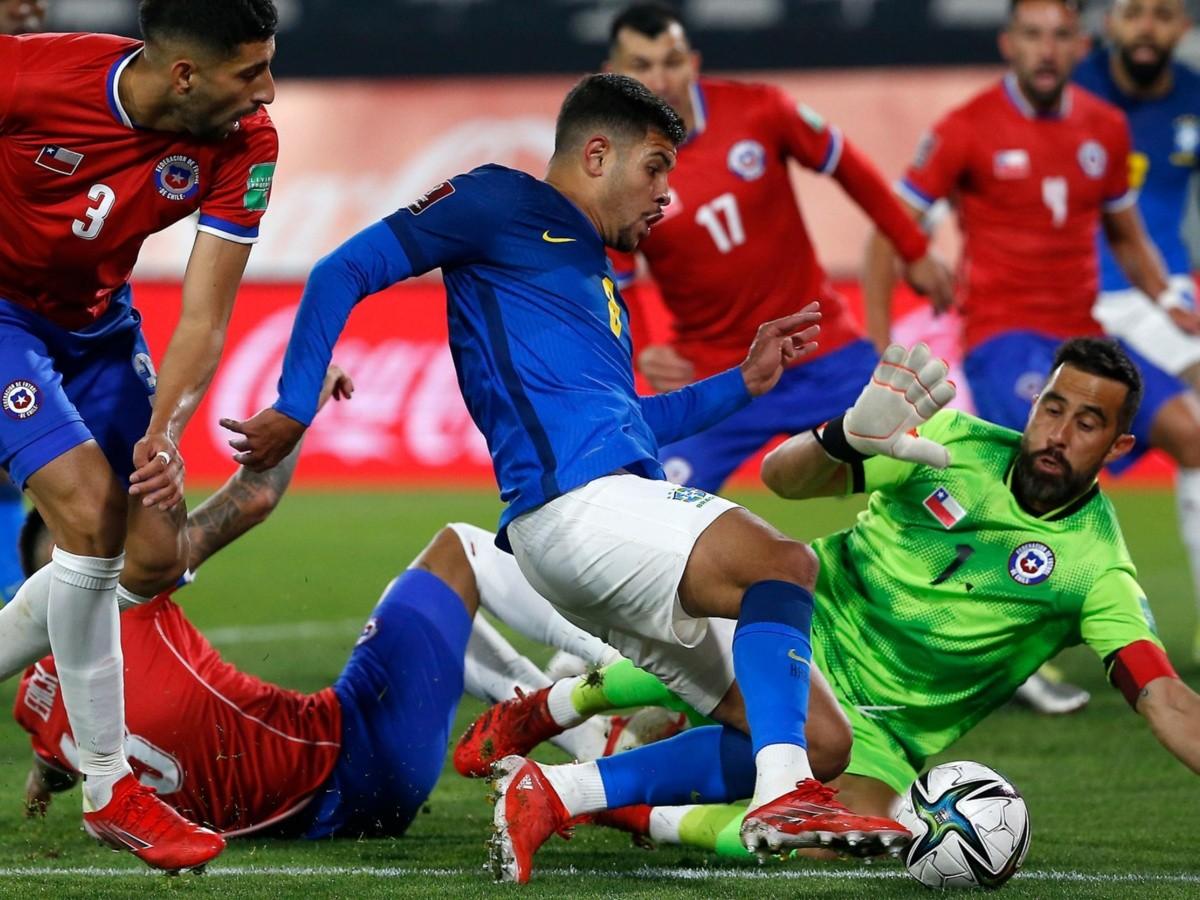 EN VIVO 1er Tiempo Chile 0-0 Brasil | Transmisión ONLINE, GRATIS y EN DIRECTO vía Streaming| Eliminatorias a Qatar 2022 | Dale Albo