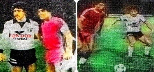 Caszely y Maradona